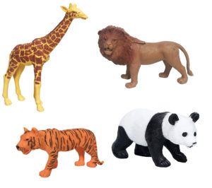 Large Farm Animals Figures Toys for Toddlers Kids - Plenty